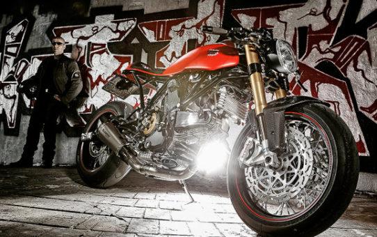 Ducati motorcykel