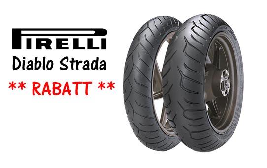 Pirelli Diablo Strada rabatt